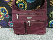 Eddie Bauer Deep Purple Nylon Shoulder/Messenger Bag w/Multiple Compartments