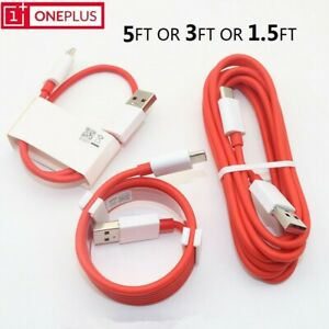 Original OnePlus DASH USB Type-C Data Cable Fast Charger Cord For 3 3T 5 5T 6 6T