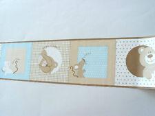 3x Readyroll selbstklebende Bordüre Border 5mx12,5cm Peek a Boo Natural 30655(3)
