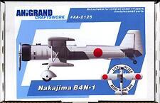 Anigrand Models 1/72 NAKAJIMA B4N-1 Japanese 1932 Carrier Attack Aircraft