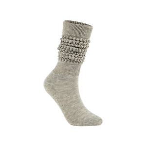 Slouch Socks Scrunch 100% Cotton,Soft Extra Long Scrunch Knee High Sock