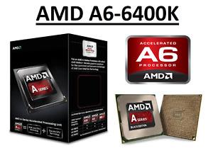 AMD A6-6400K Dual Core Processor 3.9 - 4.1 GHz, 1 MB Cache,Socket FM2, 65W CPU