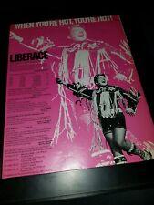 Liberace Rare Original 1971 Tour Promo Poster Ad Framed!