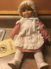 "Gustel Wied doll ""Pauline"" number and limited 1948/5000 Signed Reick Blonde"