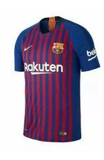 Nike Fc Barcelona Jersey Mens Size Medium Slim Fit Vaporknit Soccer Futbol