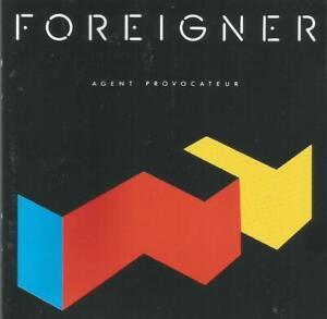 Foreigner - Agent Provocateur, Atlantic CD album