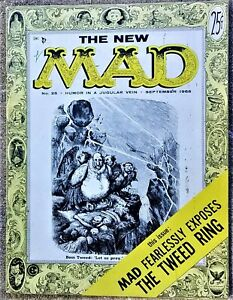 MAD Magazine #25 Sept 1955! FINE+/VERY FINE! 7.0! $0.99 Start! OUTSTANDING Copy!