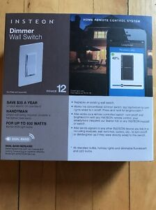 Insteon Dimmer Wall Switch Device 12