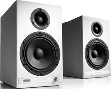 Audioengine HD6 Active Speakers - WHITE Pair Bluetooth Powered Loudspeakers