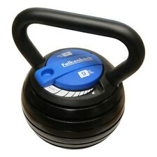 Verstellbare 9kg Kettlebell | Über 20 Gewichtsvariationen | 6X Gewichte