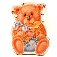 Teddy Bear & Honey Bees Baby Shower Collectible Tin Storage Container