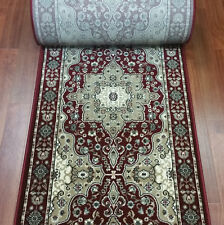 """Rug Depot Hall & Stair Runner Remnant 26"""" x 25'9 Red Staircase Rug Runner"""