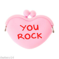 You Rock Candy Heart Coin Purse Nwt