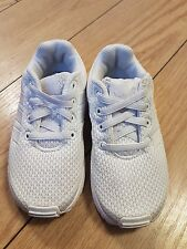 GIRLS BABY TODDLERS INFANTS ADIDAS ZX FLUX TRAINERS SIZE UK 7