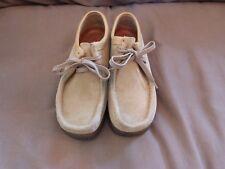 Clarks Originals Wallabee 35395 Sand Suede Crepe Sole Desert Shoes Women's 9.5