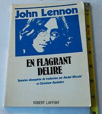 John Lennon en Flagrant Délire (vf de In his own write) 1965 France
