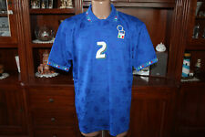 Maglia  calcio Italia numero 2 Apolloni  anni 90