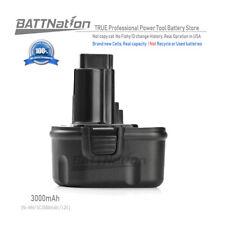 12V 3000mAh 3.0AH NiMh Battery for DEWALT DE9037 DE9071 DE9072 DW915 DW917 DW980