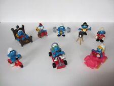 SCHTROUMPF : Lot de 8 Super Schtroumpfs Schleich (smurf schlumpf puffi pitufos)