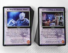 Babylon 5 CCG Severed Dreams Complete Set of 50 Uncommon & 50 Common Cards Mint