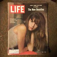 LIFE Magazine~January 28 1966 ~ Young Film Stars of Europe ~ Indira Gandhi