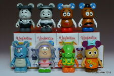 """COMPLETE SET VINYLMATION 3"""" TOY STORY SERIES 2 TWITCH CHASER BUZZ LIGHTYEAR"""