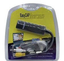 New Easy CAP USB 2.0 Video Adapter W/Audio Capture & Edit DC60