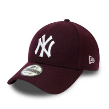 NEW ERA NEW YORK YANKEES BASEBALL CAP.9FORTY WINTERIZED WOOL STRAPBACK HAT W20