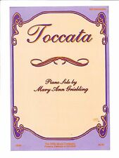 Toccata Mid Intermediate Piano Solo Sheet Music Mary Ann Griebling Willis