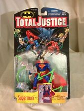 1996-Dc Total Justice-Superman Figure-Misp -N/M-Mint -See Condition-High Grade