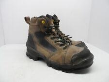 """Terra Men's 6"""" Zephyr Composite Toe Work Boot Brown Size 11M"""