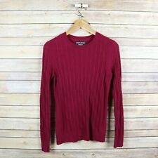 BANANA REPUBLIC Women's Filpucci Italian Merino Cashmere Cable knit Sweater XS