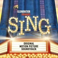 SING Original Soundtrack Deluxe Edition CD NEW Illumination Presents