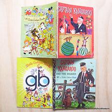 2 x A Little Golden Book -  Captain Kangaroo