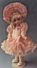 """12-14""""Antique French Bru-German Doll Low-Waist Dress Hat Underwear Pattern"""