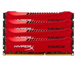 For Kingston HyperX Savage 8GB 16GB 32GB 1866MHz DDR3 PC3-14900 DIMM Desktop RAM
