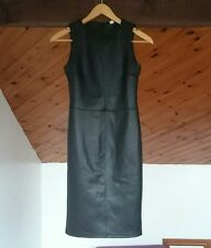 Ladies Leather Look knee length Dress