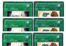 6-Card set  3X  OjaMagic + 3 X OjaMuscle 1st DP02-EN20-ENO21 yugioh