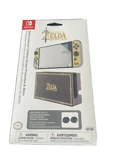 Nintendo Switch Licensed Zelda Collectors Edition Screen Protector Console Skins
