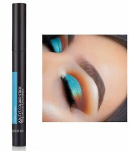The Body Shop Eye Shadow Colour Stick Sydney Topaz Metallic Bright Blue NEW
