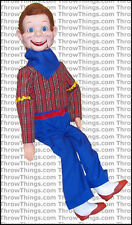 Howdy Doody Deluxe Upgrade Ventriloquist Dummy Doll Puppet With Moving Eyes