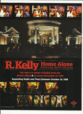 R. KELLY Mary Cutrufello Home TRADE AD POSTER of 98 CD