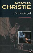 Collection AGATHA CHRISTIE /CRIME DU GOLF.Nv traduction