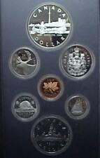1984 Canada Proof Double Dollar Set
