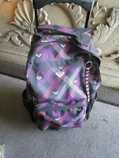Surfer Girl Official Rocky Travel Backpack w/ wheels & Pull Handle / Very Clean