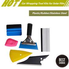 Universal Car Window Glass Door Sticker Film Tint Handle Tool Scraper Squeegee