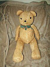 Lg Teddy Bear Handmade From Antique Chenille Bedspread Artist Made 1995 Romans 8