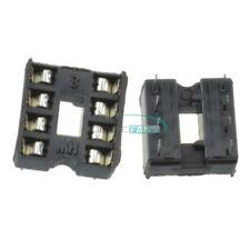 100PCS DIP8 Integrated Circuit 8 Pin IC Sockets Adaptor Solder Type New