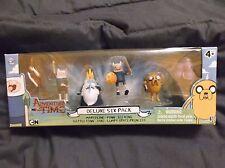 Adventure Time Deluxe 6 Pack Marceline Battle Finn Jake Ice King Lumpy Space Pr