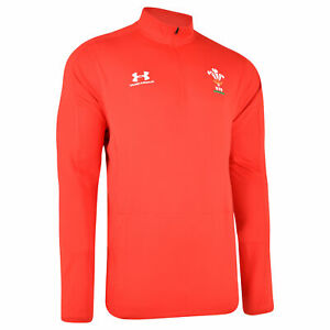 Under Armour WRU Wales 1/4 Zip Jacket Adults Welsh Rugby